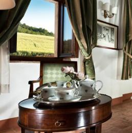 Hotel Relais Osteria dell'Orcia / gallery / Servizio da tè in camera