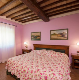 Hotel Relais Osteria dell'Orcia / gallery / Camera rosa