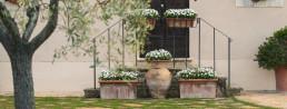 Hotel Relais Osteria dell'Orcia / gallery / Esterno fiorito