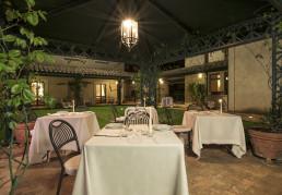 Hotel Relais Osteria dell'Orcia / gallery / Tavoli ristorante