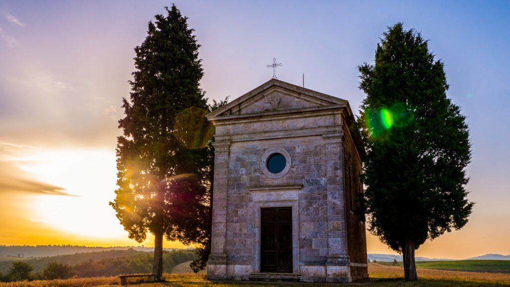 Capella della Madonna di Vitalleta Relais Osteria dell Orcia